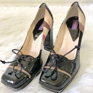Authentic Emilio Pucci multicolor heels
